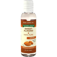 Nature's Truth Cold Pressed Skin Care Base Oil, Sweet Almond, 4 fl oz