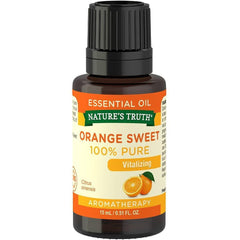 Nature's Truth Vitalizing 100% Pure Essential Oil, Orange Sweet, 0.51 Fluid Ounce