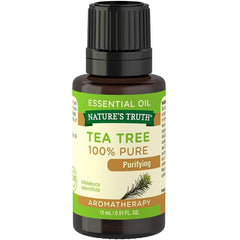 Nature's Truth Purifying 100% Pure Essential Oil, Tea Tree, 0.51 Fluid Ounce