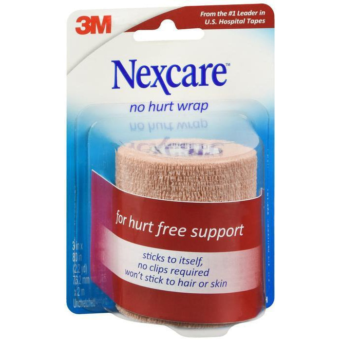 "Nexcare Coban Self-Adherent Wrap, 3"" x 80,"" One Count"