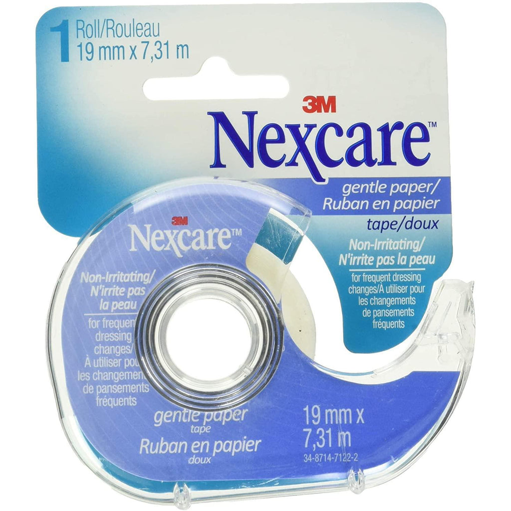 Nexcare Gentle Paper Tape With Dispenser, One Count