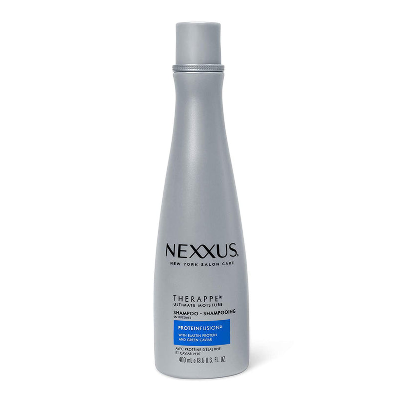 Nexxus Therappe Shampoo For Normal to Dry Hair Ultimate Moisture Silicone-Free, 13.5 oz