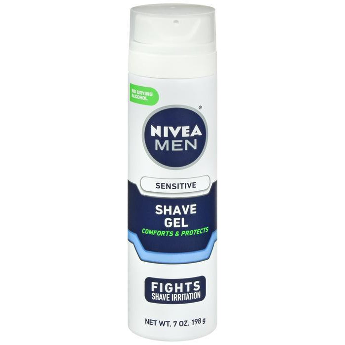 Nivea For Men Shaving Gel, Sensitive - 7 oz