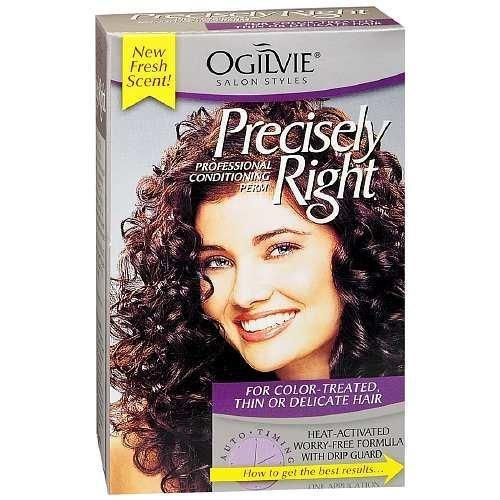 Ogilvie Precisely Right Perm: for Color-Treated Thin or Delicate Hair, 1 COUNT