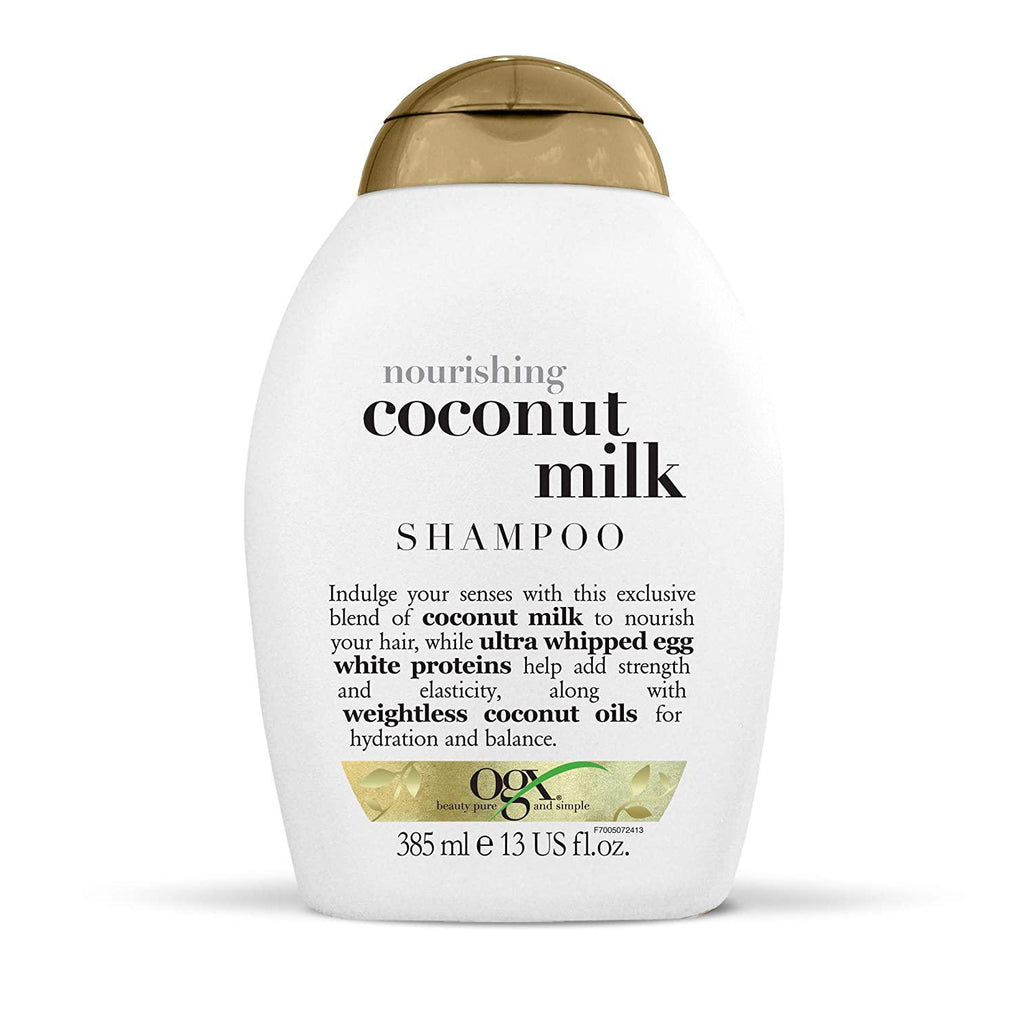 OGX Nourishing + Coconut Milk Shampoo, 13 Fl Oz.