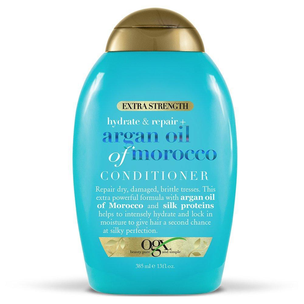 OGX Extra Strength Hydrate & Repair + Argan Oil of Morocco Conditioner, 13 Fl Oz.