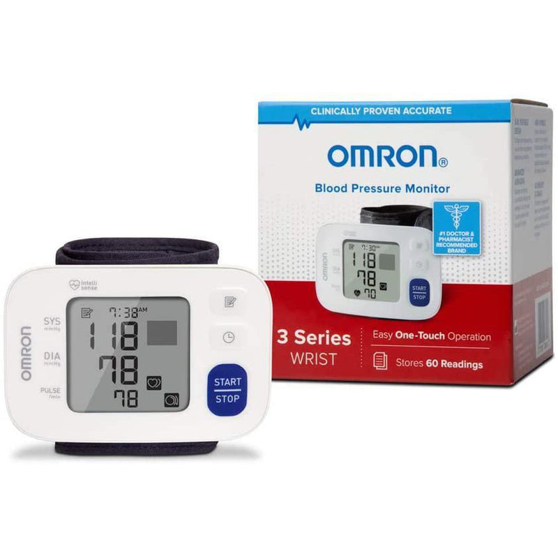 Omron 3 Series Wrist Blood Pressure Monitor, 1 Count