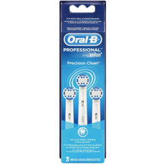 Oral B Precision Clean Electric Toothbrush Replacement Brush Heads - 3 count