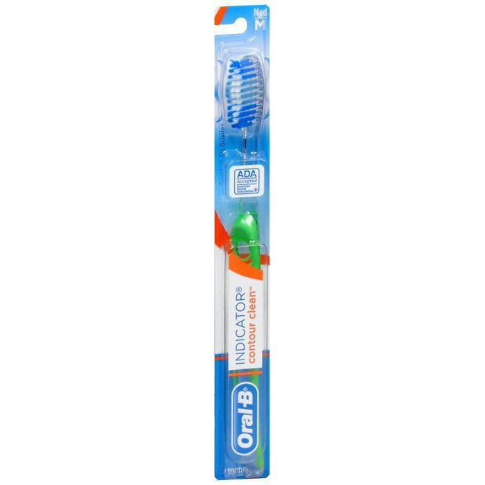 Oral-B Indicator Color Collection Manual Toothbrush, Medium - 1 Count