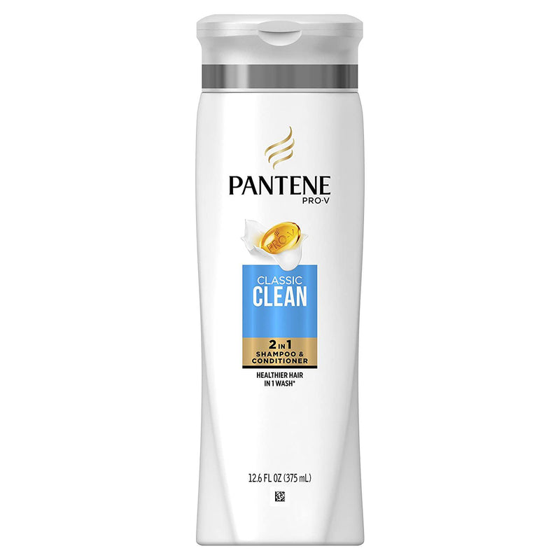 Pantene Pro-V 2 in 1 Shampoo & Conditioner, Classic Clean, 12.6 Ounce
