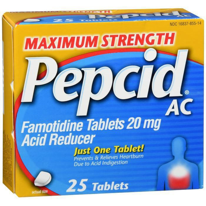 Pepcid AC Maximum Strength Tablets - 25 count