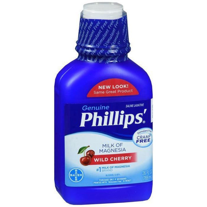 Phillips' Milk of Magnesia Liquid Wild Cherry - 26 oz