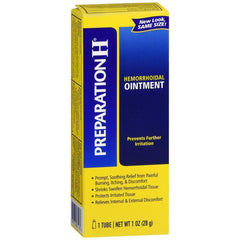 Preparation H Hemorrhoid Symptom Treatment Ointment - 1 oz Tube