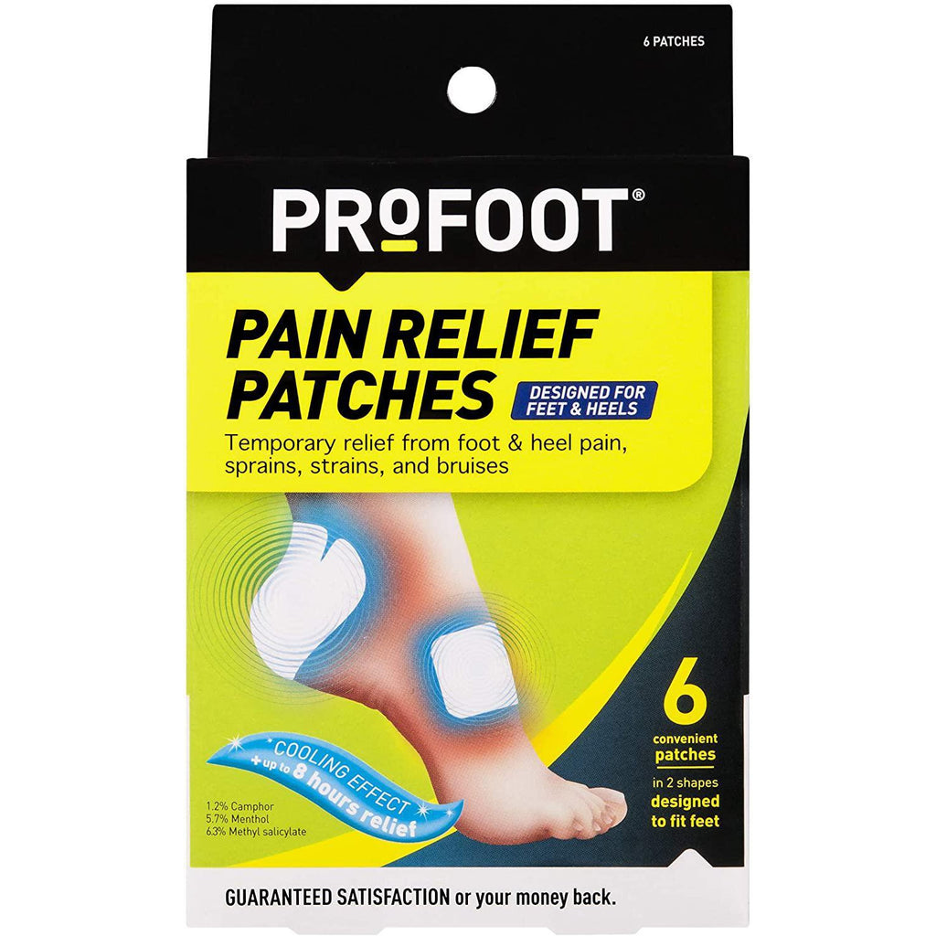 Profoot Pain Relief Patches, 6 Count