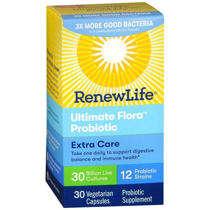 Renew Life Adult Probiotics, Ultimate Flora Extra Care - 30 capsules