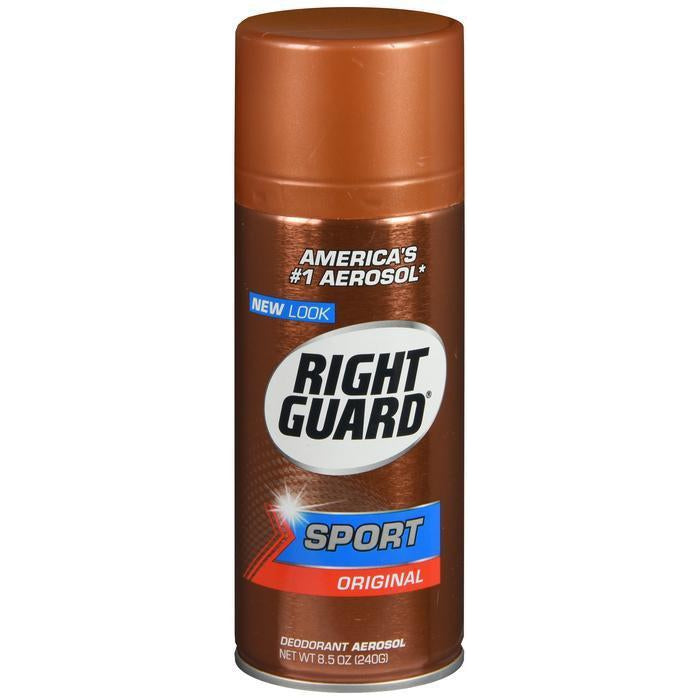 Right Guard Sport Deodorant Aerosol Spray, Original - 8.5 Ounce