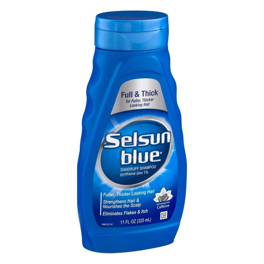 Selsun Blue Shampoo Dandruff For Fuller/Thicker Hair, 11 Fl Oz