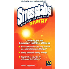 Stresstabs Energy Vitamin Tablet, 60 Count