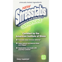 Stresstabs Advanced Dietary Supplement, 60 Tablets