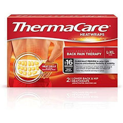 ThermaCare Advanced Back Pain Therapy L-XL Heatwraps, 2 Count