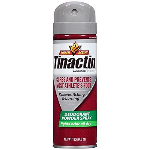 Tinactin Antifungal Aerosol Deodorant Powder Spray, 4.6 Ounce