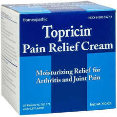 Topricin Pain Relief Cream, Fast Acting Pain Relieving Rub, 4 oz.