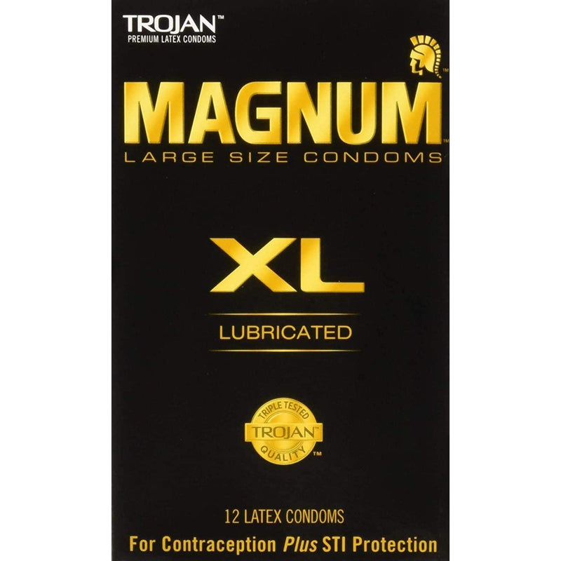 Trojan Magnum XL Large Size Lubricated Condoms