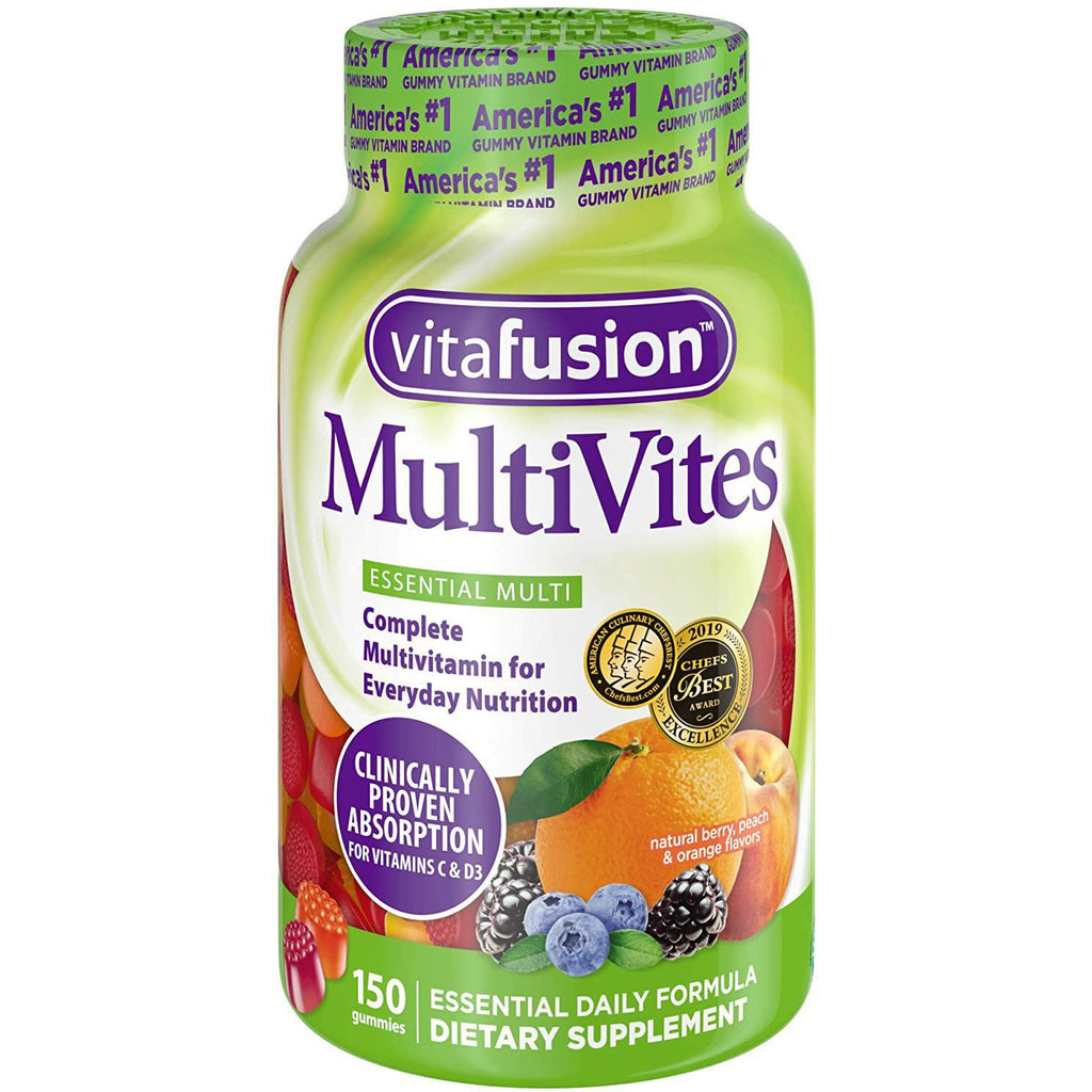 Vitafusion MultiVites Gummy Multivitamins for Adults, 150 gummies