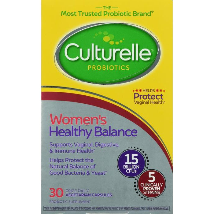 Culturelle Women's Healthy Balance Probiotic for Women - 30 Count