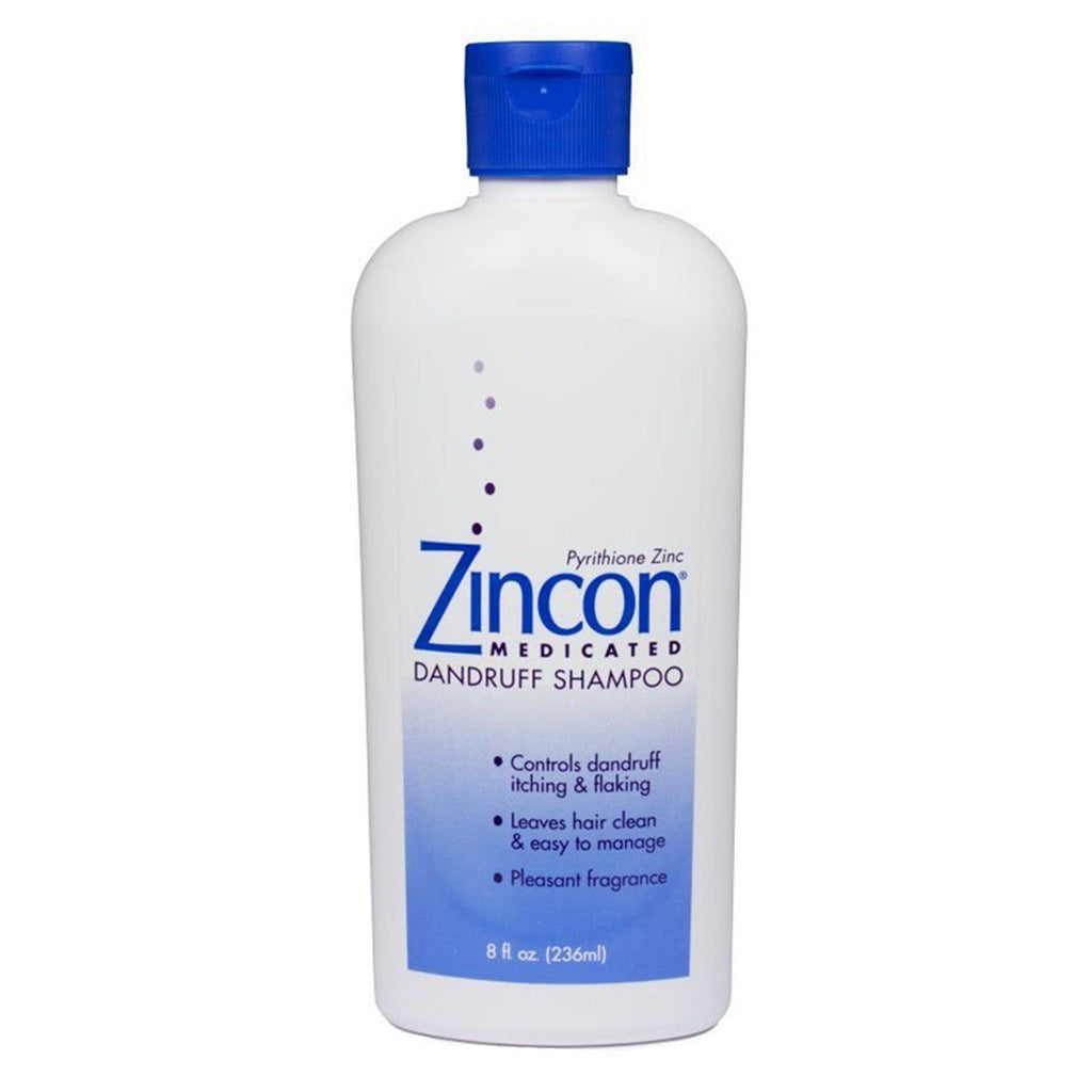 Zincon Medicated Dandruff Shampoo, 8 fl oz