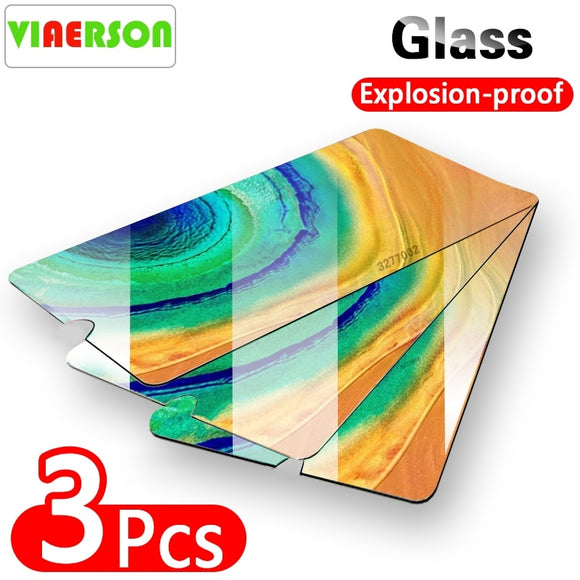 Protective Tempered Glass For Huawei P30 P20 P10 Honor 10 Lite 8X Screen Protector For Huawei Mate 20 Pro Protection Ecran Glass