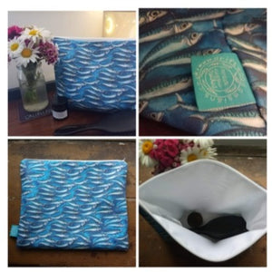 Mackerel - Wash bag