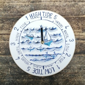 On the Waves - Tide Clock - English