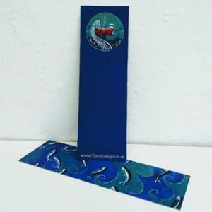 Fish and Boat - Bookmark