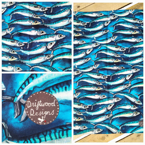 Mackerel - Tea Towel