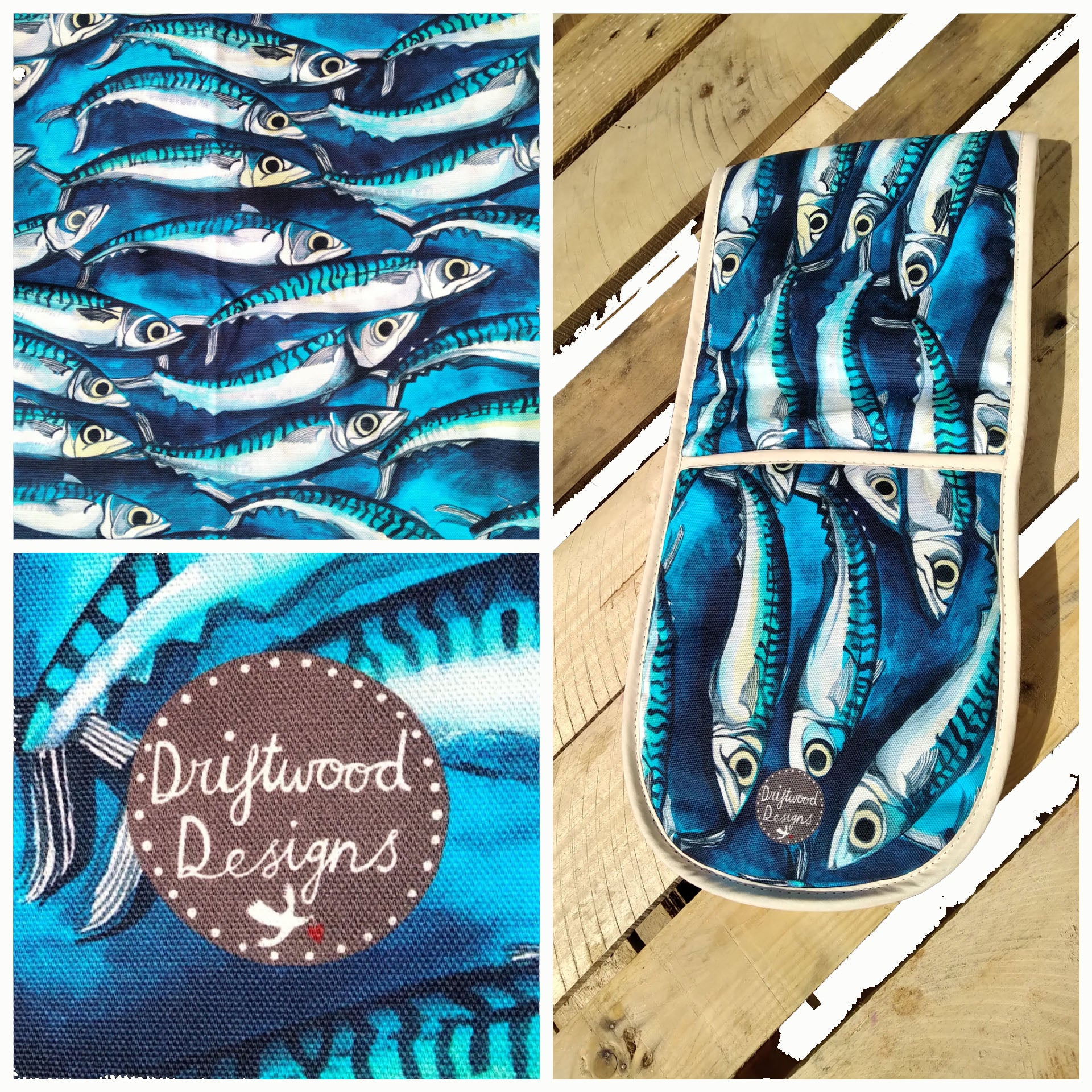 Mackerel - Oven Gloves