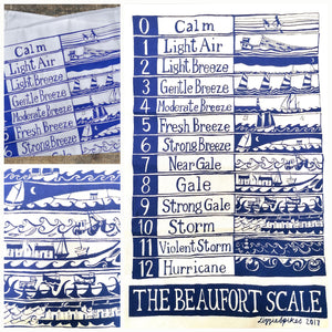 Beaufort - Mono - Tea Towel