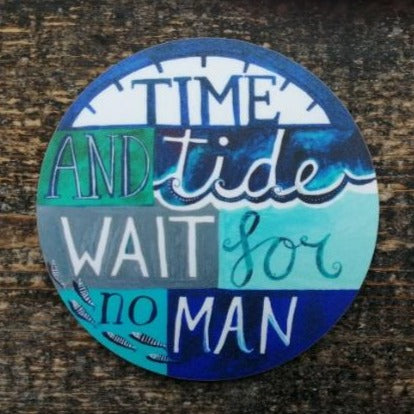 Time and Tide - Coaster