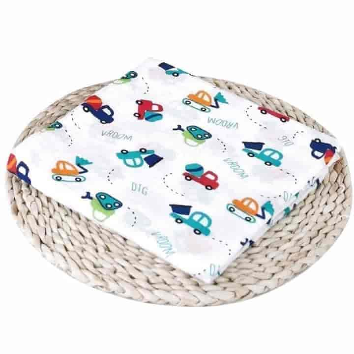 1Pc Muslin 100% Cotton Baby Swaddles Soft Newborn Blankets Infant Wrap Play Mat - mybabyflame