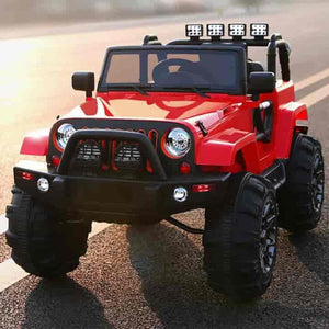 12V Ride on  Kids Truck/Jeep Car with Remote Control - mybabyflame