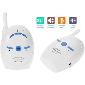 2.4GHz Wireless Portable Digital Audio Baby Monitor - mybabyflame