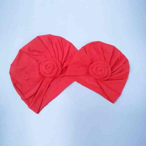 2Pcs/Set Mom Baby Photo Props Knot Turban - mybabyflame