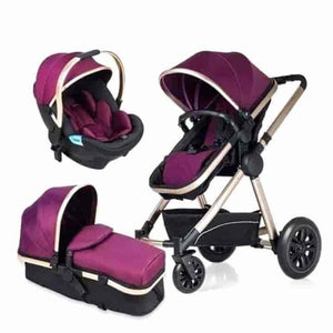 3-in-1 360 degrees Baby Stroller - mybabyflame