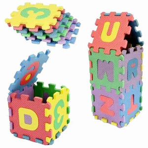 36 Pcs Alphanumeric Baby Educational Toys, Child Toy Gift - mybabyflame