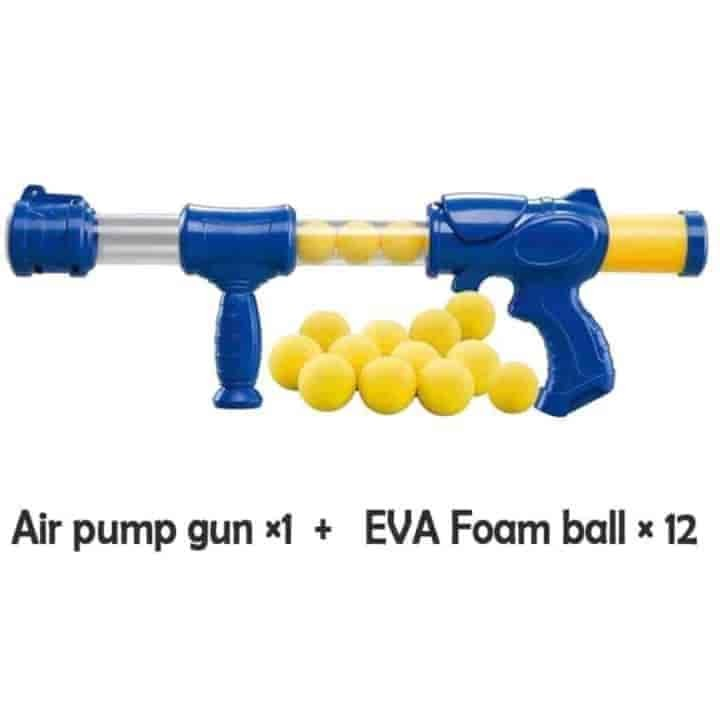 Air Pump Soft Ball Shooting Gun Toy Games - mybabyflame