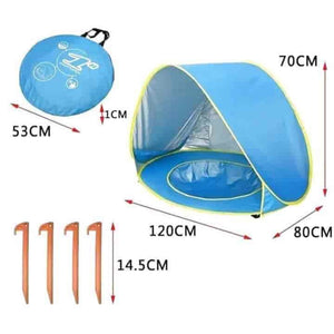 Baby Beach Tent UV 50+ Protection - mybabyflame