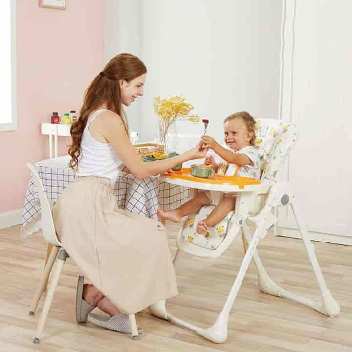 Baby Cool Portable High Dining & Sleep Chair - mybabyflame