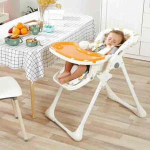 Cool Portable Dining, Sleeping Baby High Chair- mybabyflame