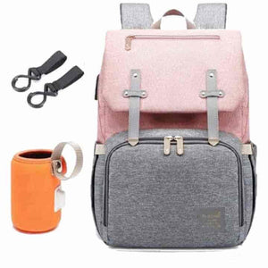 Baby Diaper Bag with USB Port - mybabyflame