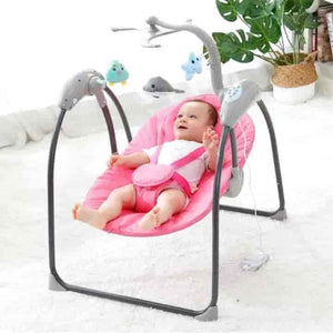 Foldable Music Baby Rocking Chair - mybabyflame